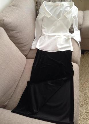 Бархатная юбка vipucci couture