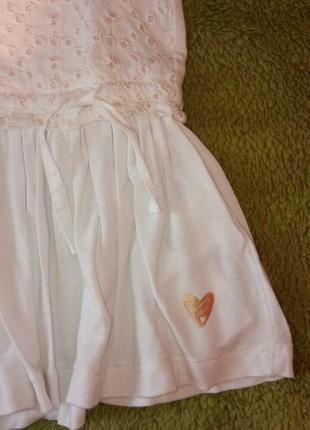 Платье chicco, р.104 - 4 года для девочки. новое, летнее4