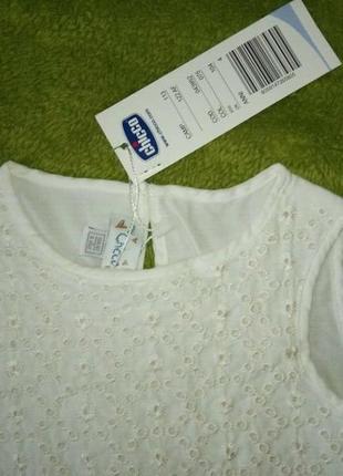 Платье chicco, р.104 - 4 года для девочки. новое, летнее5