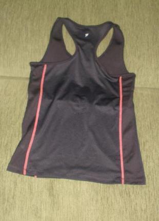 Спортивная футболка майка для фитнеса боксерка с внутренним лифом atmosphere /англ 12