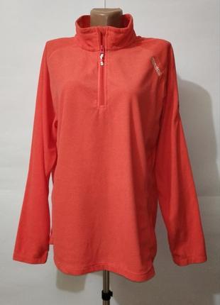 Оранжевая спортивная кофта большой размер regatta uk 18 / 46/\.xxl