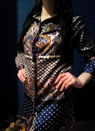Удлиненная рубашка туника платье boohoo