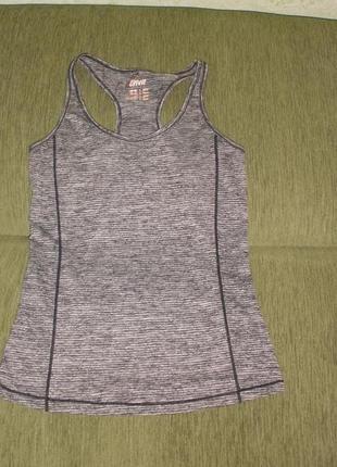 Спортивная футболка майка боксерка для фитнеса crivit sports/ англ 8-10