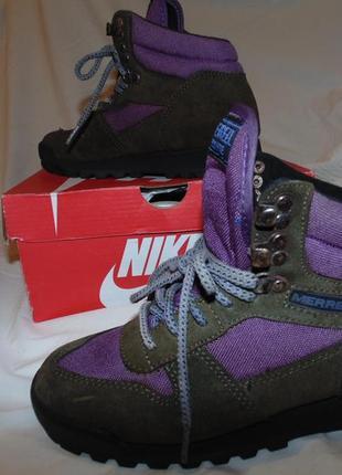 Ботинки замшевые merrell оригинал