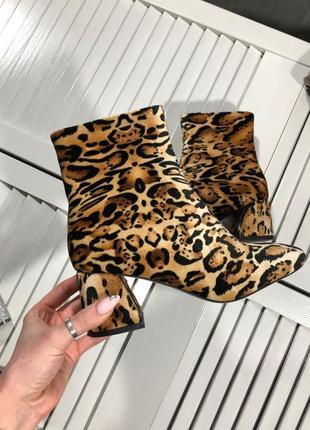 Трендовые леопардовые ботиночки от prettylittlething