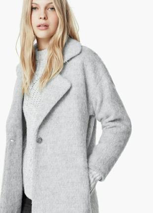 Шикарное мягкое стильное пальто
