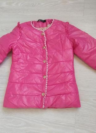 Демисезонная куртка на пуху