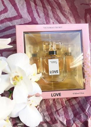 Духи, парфюм love victoria's secret, виктория сикрет, vs, оригинал