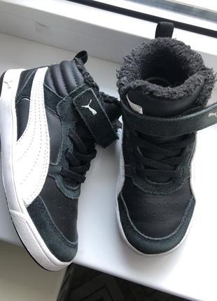 Кеды puma ботинки1