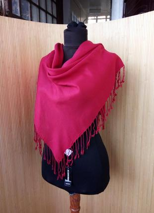 Платок / шарф с бахромой accessories 90на90
