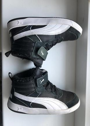 Кеды puma ботинки4