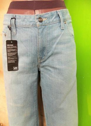 Шипокие  джинсы  lee alamo w30 l 332