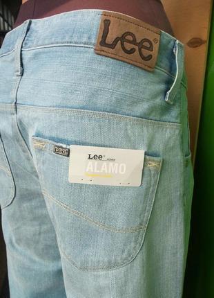 Шипокие  джинсы  lee alamo w30 l 333