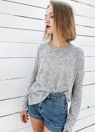 Базовый свитер oversize bershka