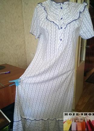 Очень нежная ,в цветочек ночная рубашка,длинная сорочка .распродажа.