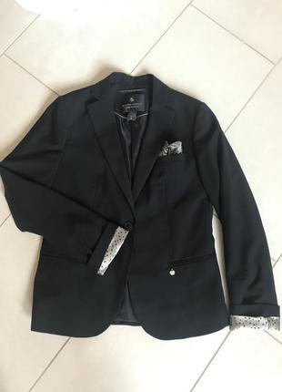 Пиджак фирменный тренч стильный maison scotch размер s-m