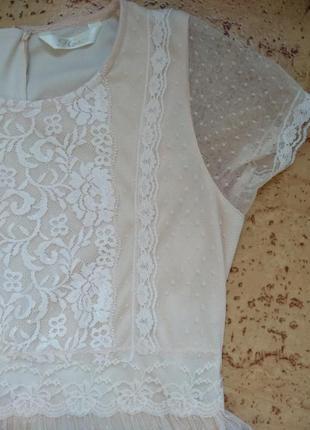 Нежное кружевное платье3 фото