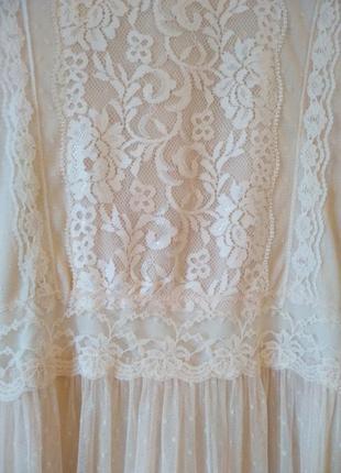 Нежное кружевное платье4 фото