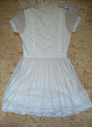 Нежное кружевное платье8 фото