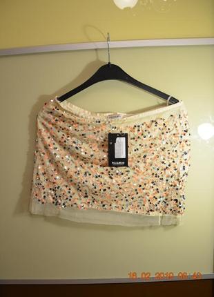 Новая юбка pull&bear