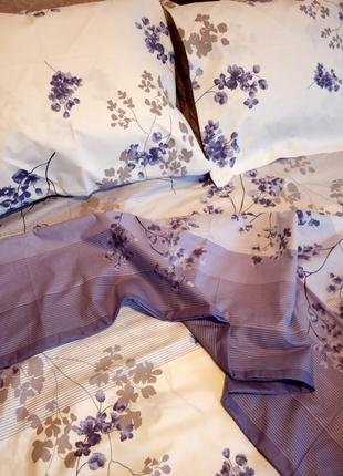 Комплект постельного белья двуспалка бязь год