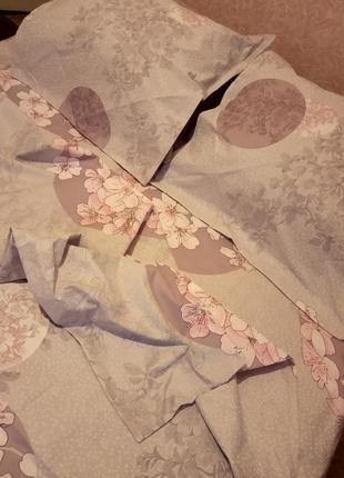 Комплект постельного белья двуспалка бязь голд1