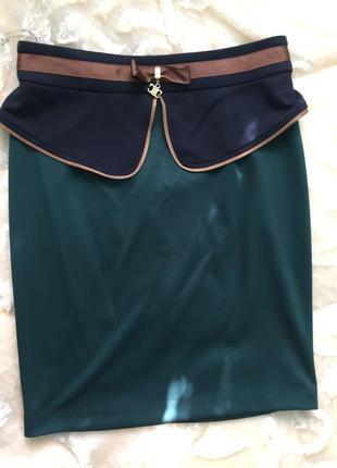 Новая стильная модная юбка из италии