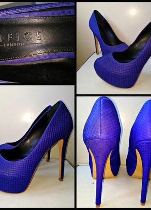 Шикарные туфли р 38-39 office london