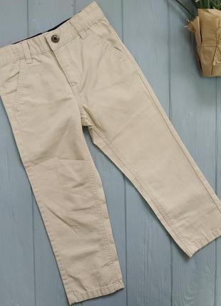 Коттоновые штаны на мальчика 98-104 см германия