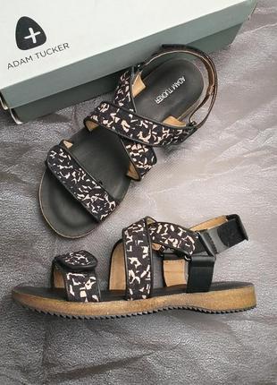 Adam tucker оригинал трекинговые сандалии босоножки кожаные бренд из сша