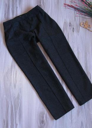 """62 % шерсть тёплые укороченные ( чинос) брюки """"promod"""" размер eur 38"""