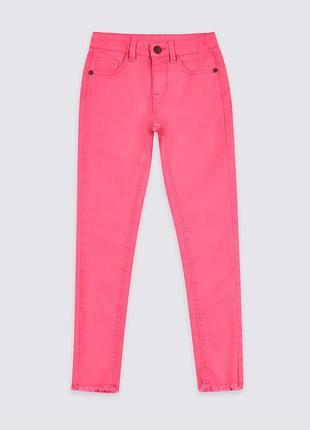 Розовые джинсы скинни бренда mark& spеncеr