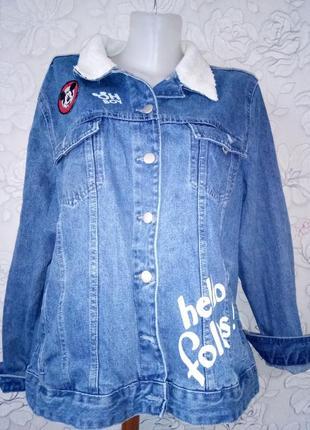 Куртка пиджак boyfriend oversize