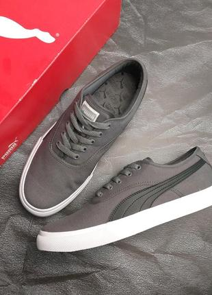 Puma оригинал мужские серые кеды el loch sneaker  из сша