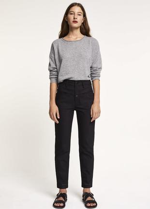 Дорогие брендовые оливковые брюки pedal pusher от closed стиль мом джинс