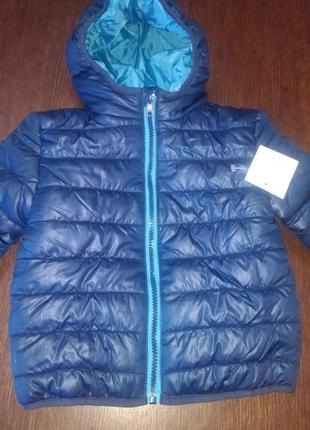 Куртка baby club 1,5 -2 г ( 86 -92 см).