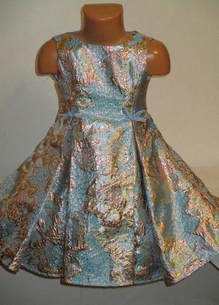 Нарядное красивое  платье monsoon