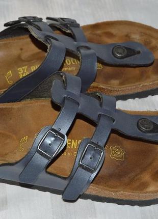 Шлепанцы шльопанці шльопки кожа birkenstock розмір 37 біркенстоки німеччина