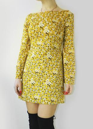 Zara платье плотное