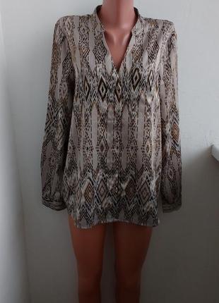 Р m-l красивая атласная блуза !