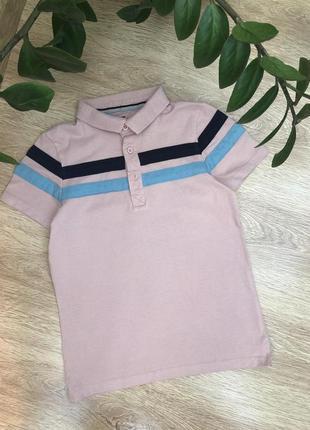 Трикотажная рубашка/футболка поло 7-9 лет