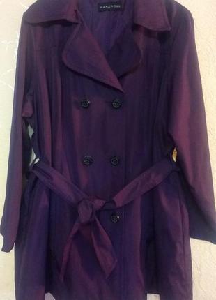 Плащ ( удлиненная куртка) wardrobe 22 р