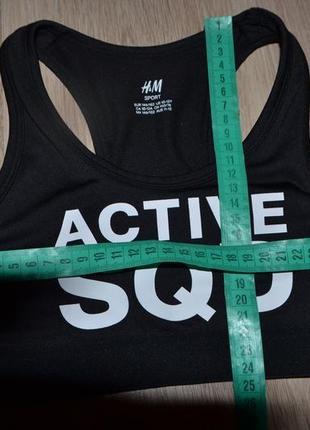 Топ для спорта девочке h&m р146-152 сост нов2