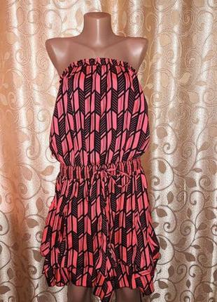 Стильное легкое, короткое женское платье, сарафан river island