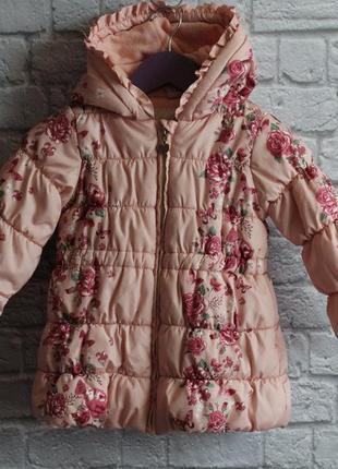 Курточка matalan на 2-3 года рост 98 см