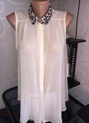 Крутая блуза /воторгик лео стиль) пуговичка с камнем