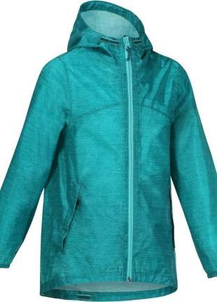 Куртка ветровка-дождевик quechua
