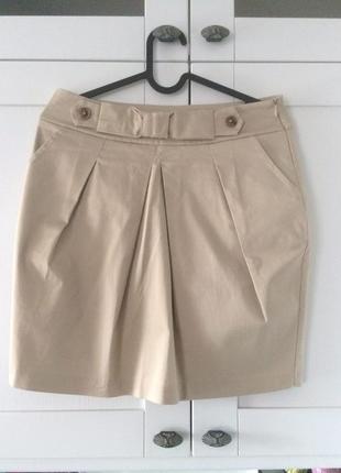 Стильная юбка-карандаш rinascimento италия хлопок + эластан