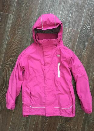 Куртка,ветровка trespass 5-6 лет