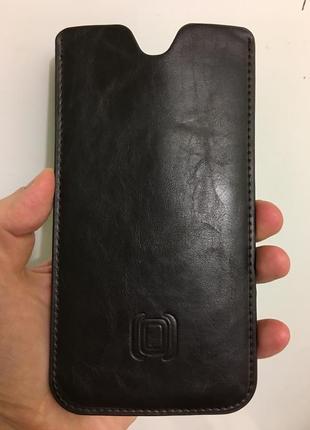 Стильный качественный дорогой кожаный чехол  для samsung note 8 оригинал новый